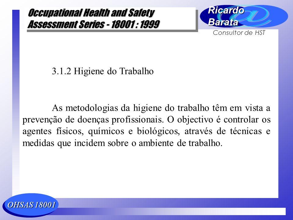 3.1.2 Higiene do Trabalho
