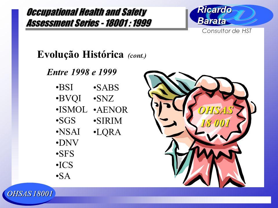 Evolução Histórica (cont.)
