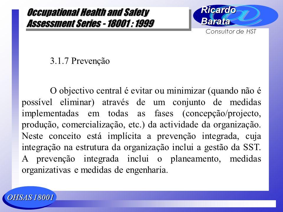 3.1.7 Prevenção