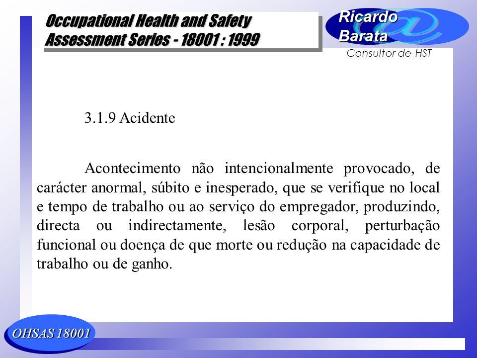 3.1.9 Acidente