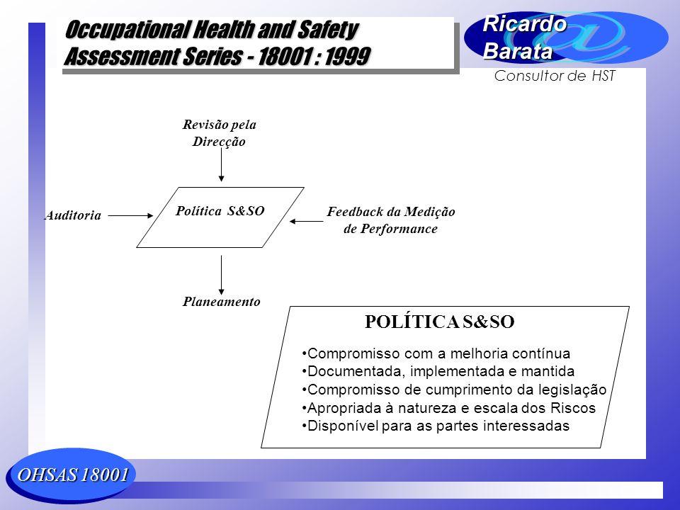 POLÍTICA S&SO Compromisso com a melhoria contínua