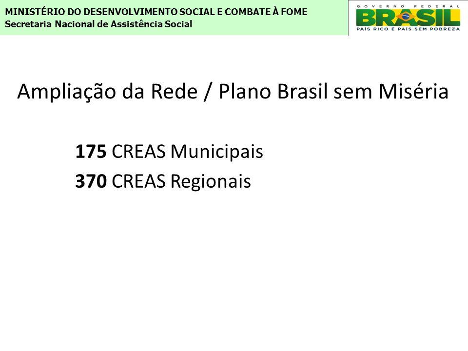 Ampliação da Rede / Plano Brasil sem Miséria