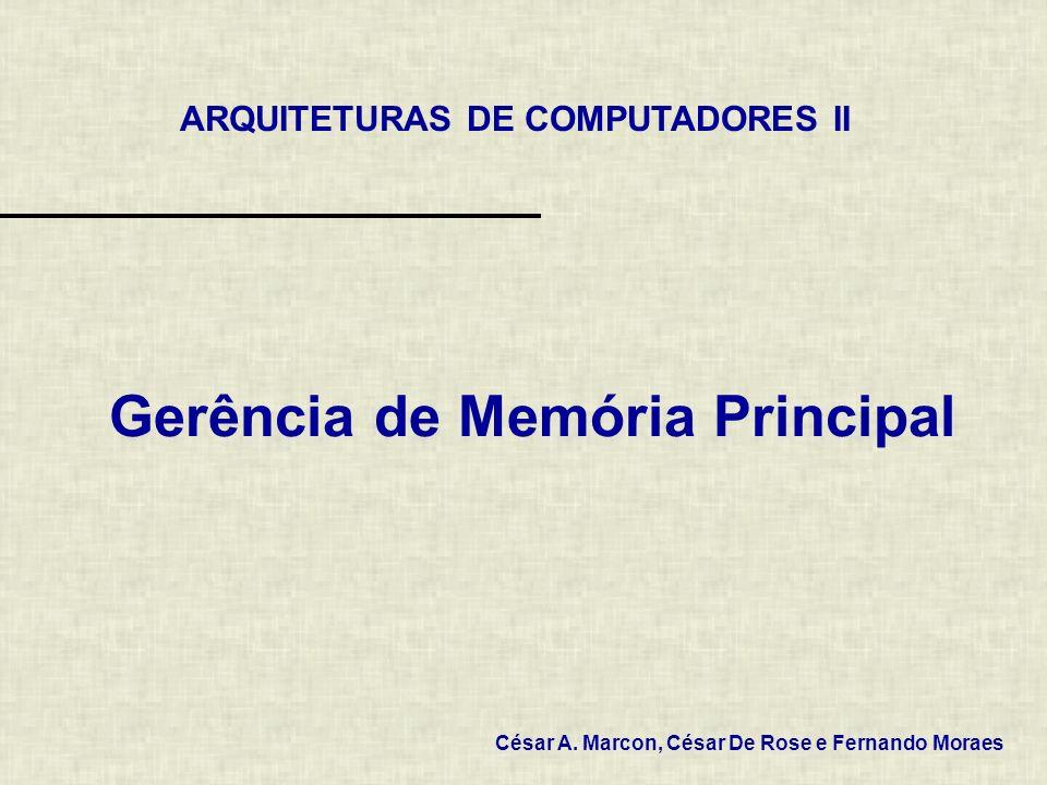 Gerência de Memória Principal