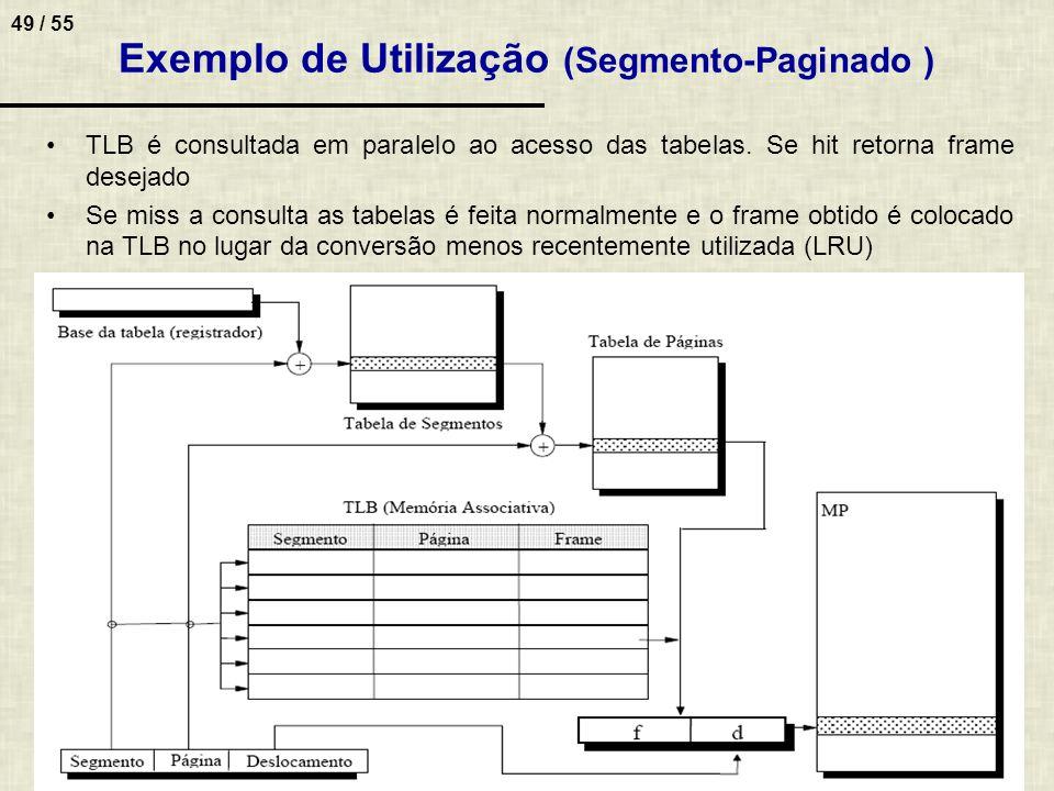Exemplo de Utilização (Segmento-Paginado )