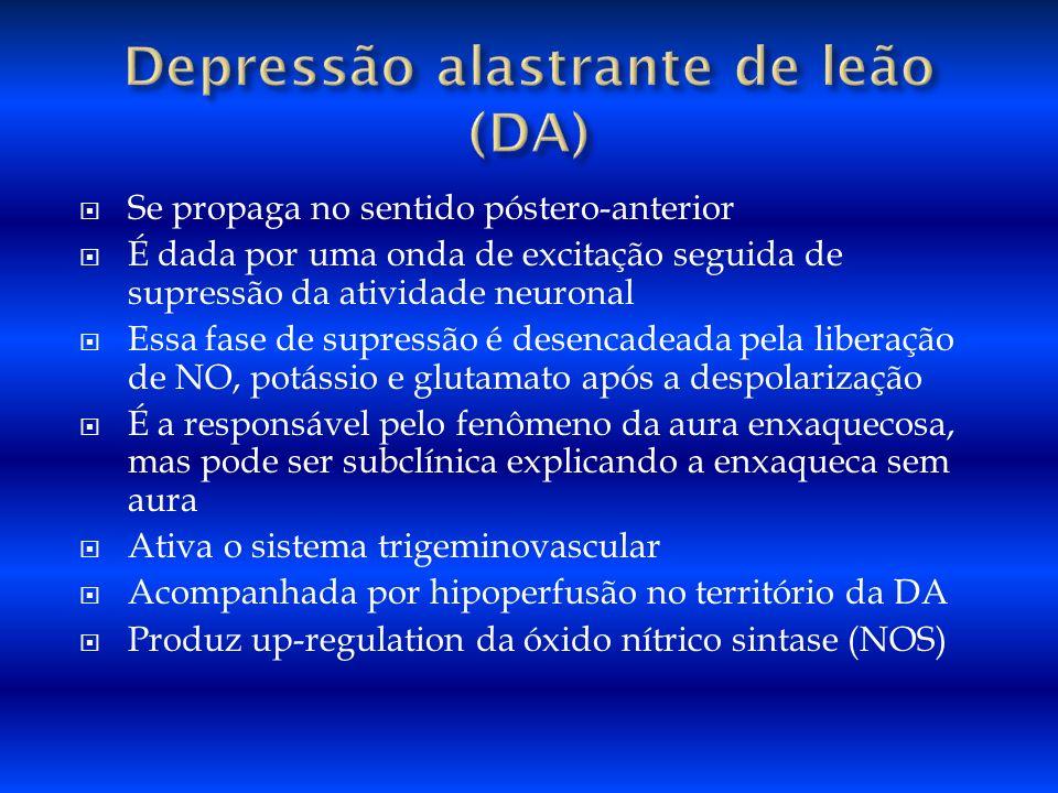 Depressão alastrante de leão (DA)