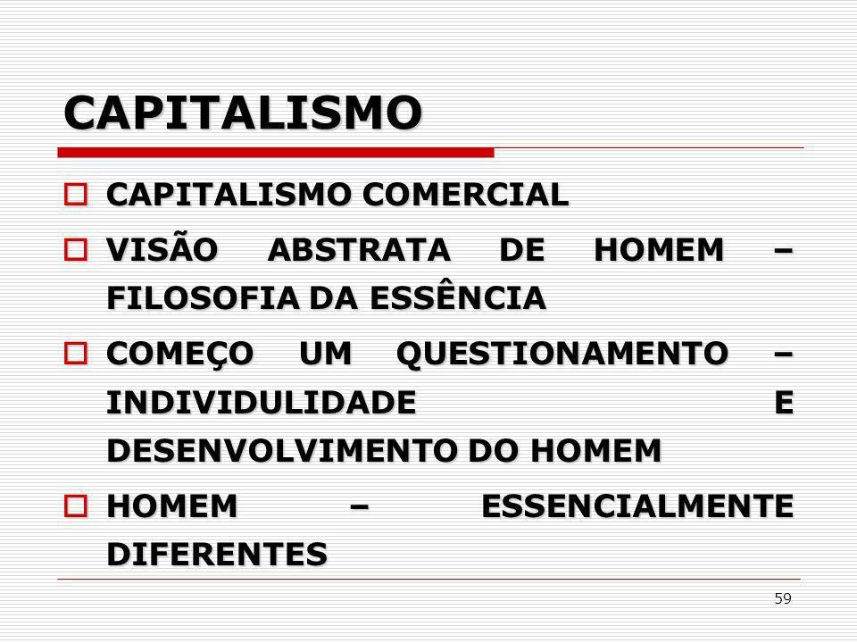 CAPITALISMO CAPITALISMO COMERCIAL