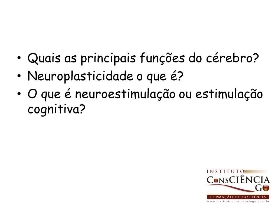 Quais as principais funções do cérebro