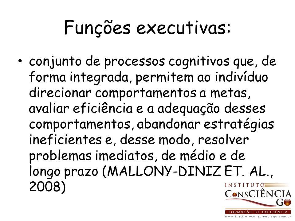 Funções executivas: