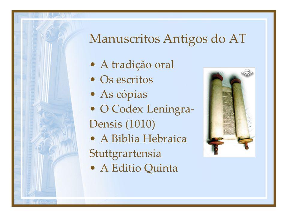 Manuscritos Antigos do AT