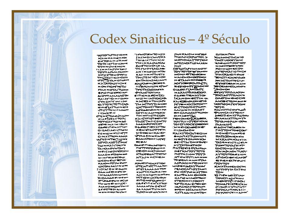 Codex Sinaiticus – 4º Século