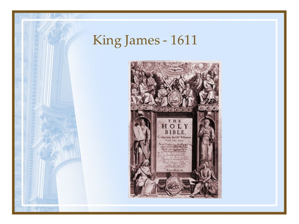 King James - 1611