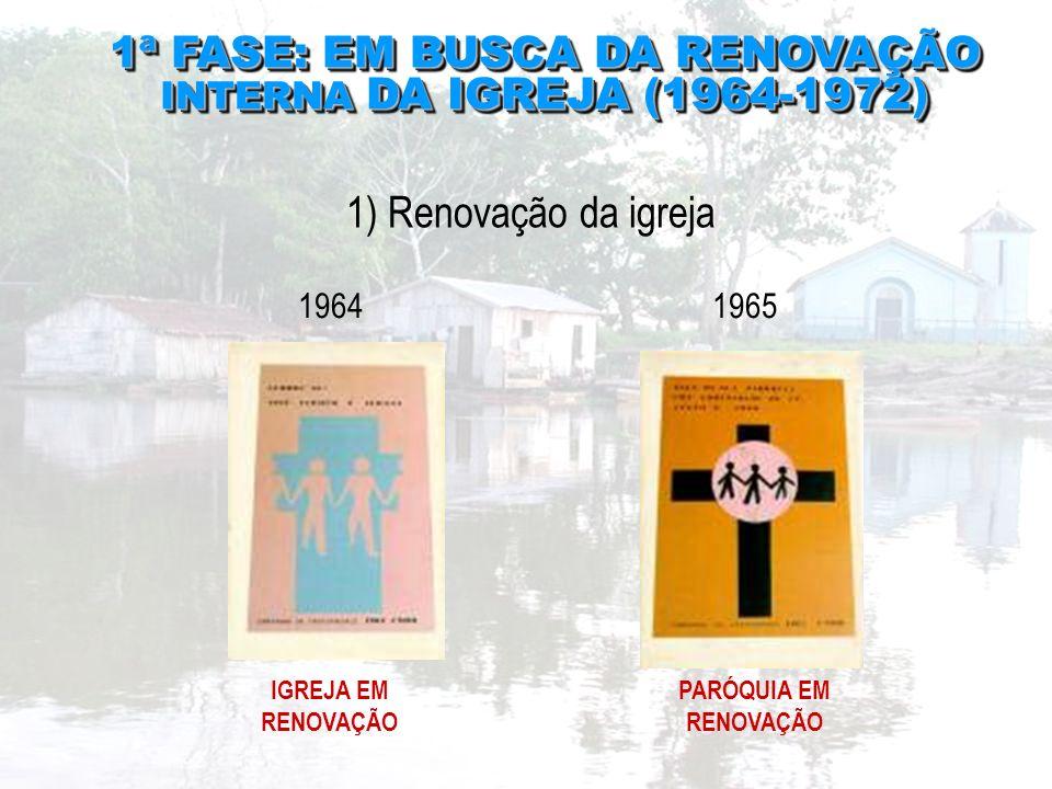 1ª FASE: EM BUSCA DA RENOVAÇÃO INTERNA DA IGREJA (1964-1972)