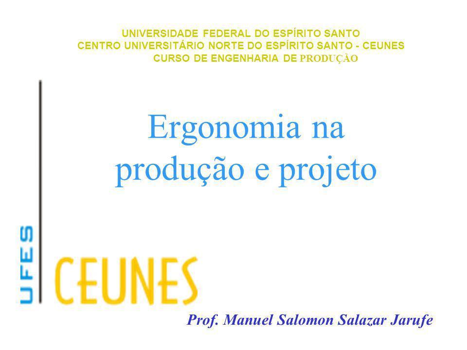 Ergonomia na produção e projeto