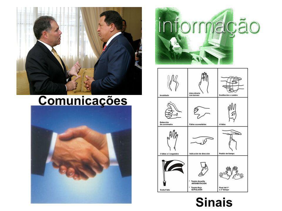 Comunicações Sinais