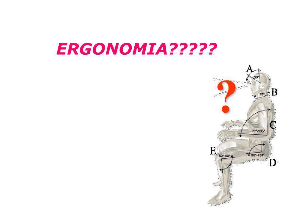 Ergonomia no Trabalho ERGONOMIA