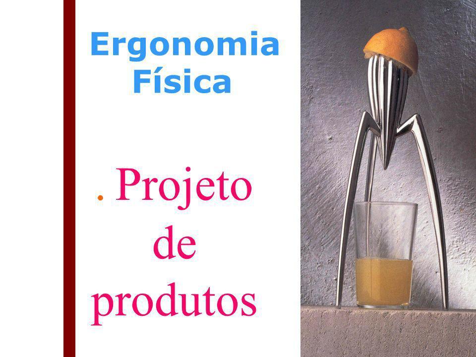 Ergonomia Física . Projeto de produtos