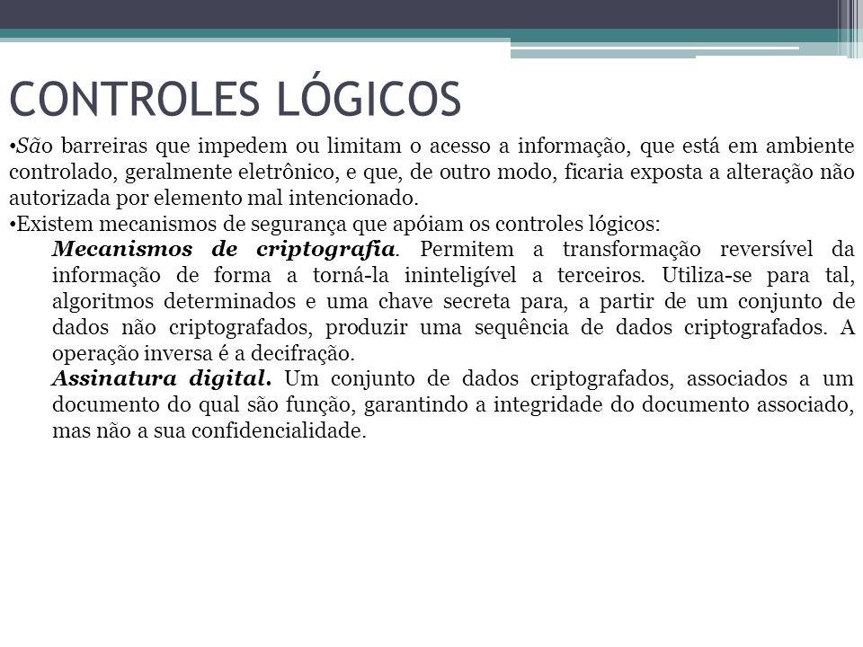 CONTROLES LÓGICOS