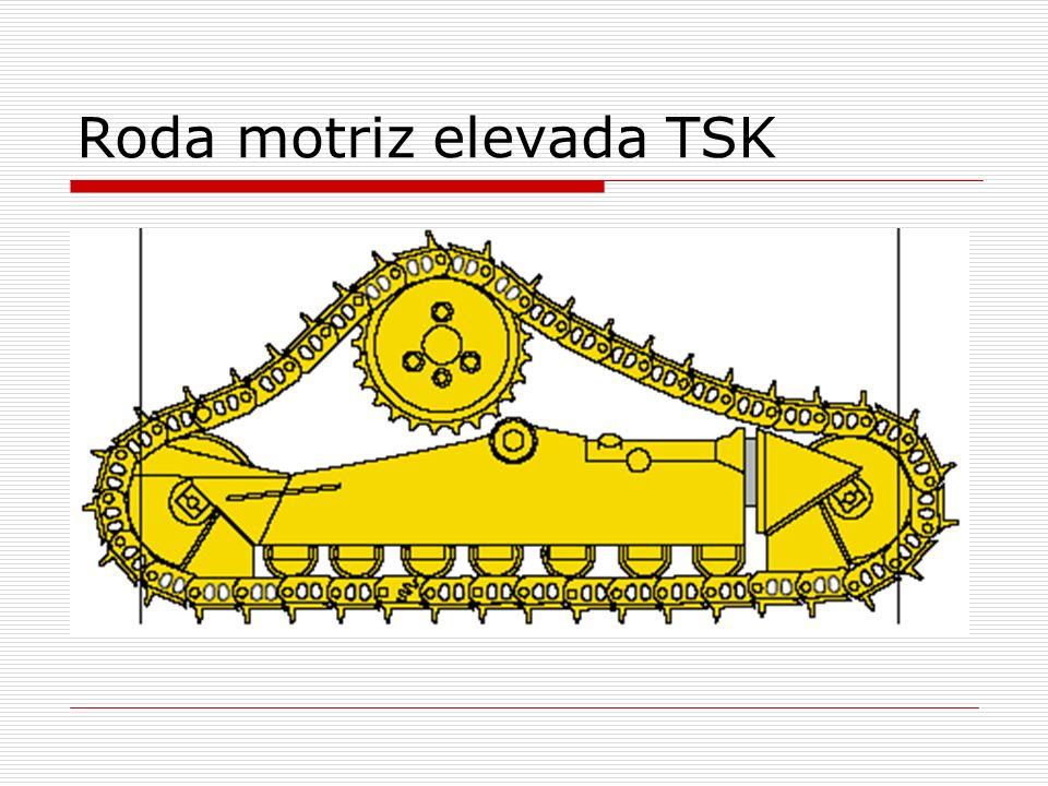 Roda motriz elevada TSK