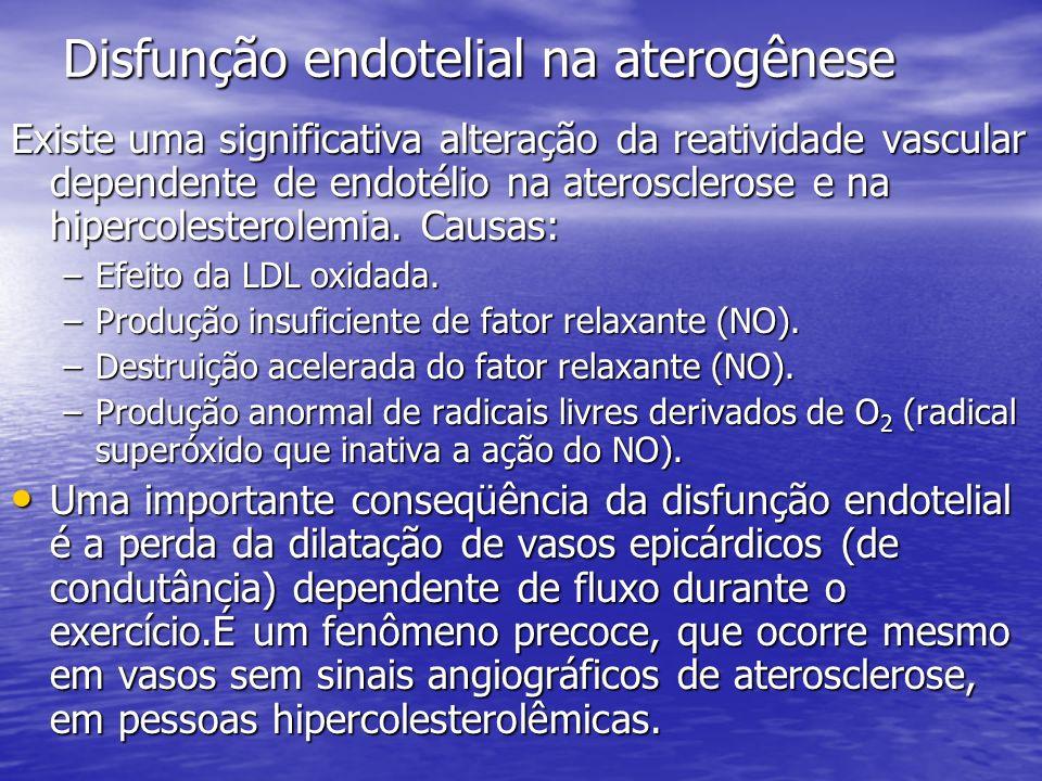 Disfunção endotelial na aterogênese