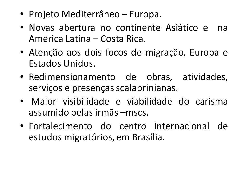 Projeto Mediterrâneo – Europa.