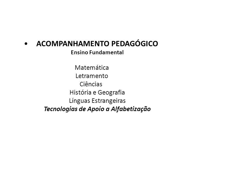 ACOMPANHAMENTO PEDAGÓGICO Ensino Fundamental