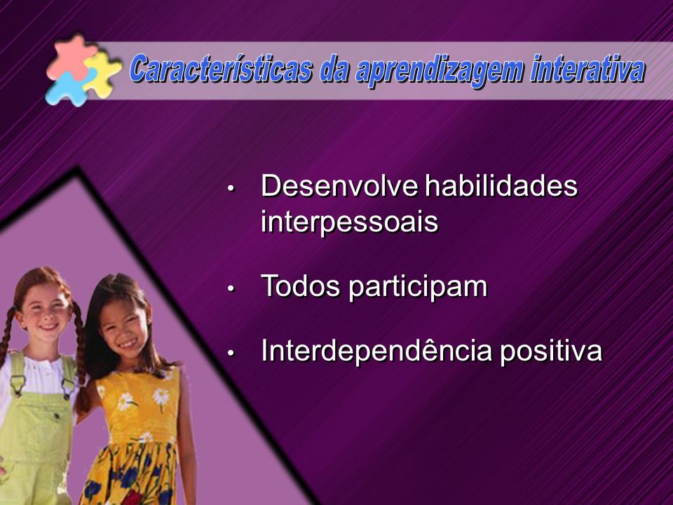 Características da aprendizagem interativa