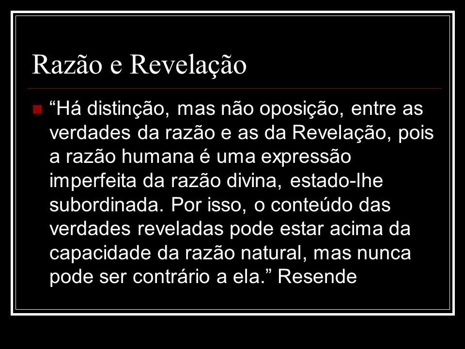 Razão e Revelação