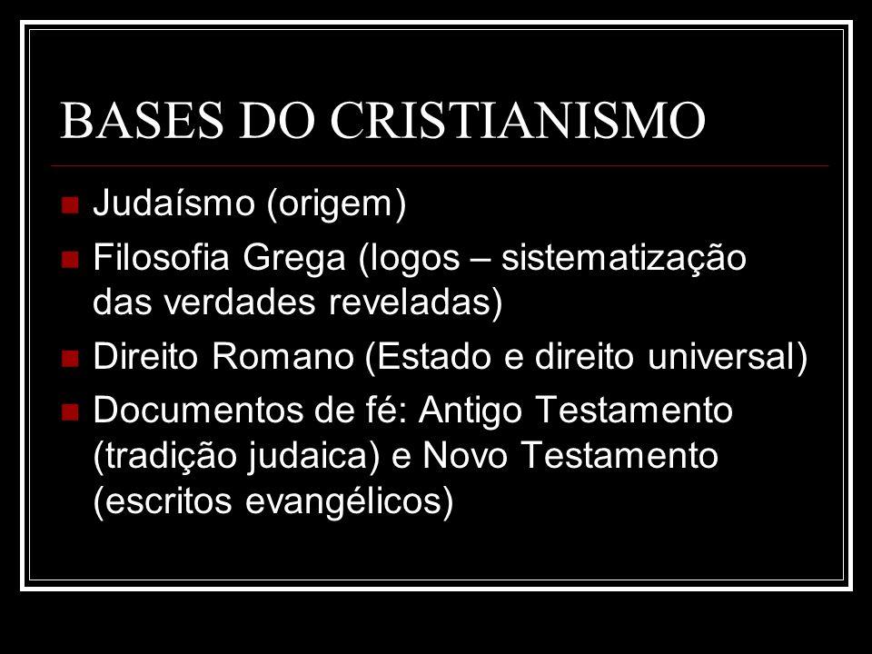 BASES DO CRISTIANISMO Judaísmo (origem)