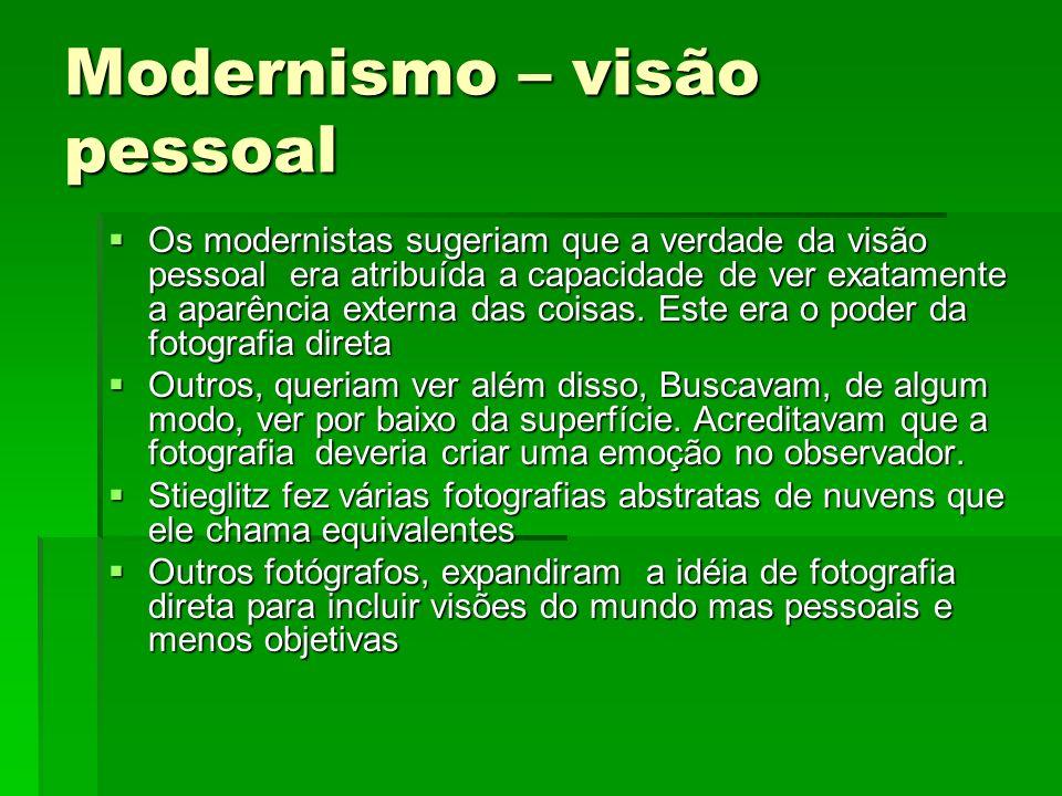 Modernismo – visão pessoal