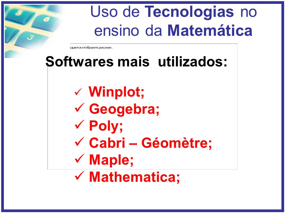 Softwares mais utilizados: