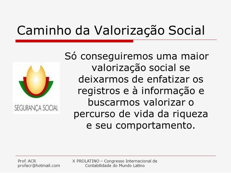Caminho da Valorização Social