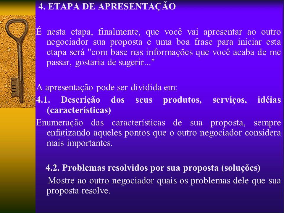 4. ETAPA DE APRESENTAÇÃO