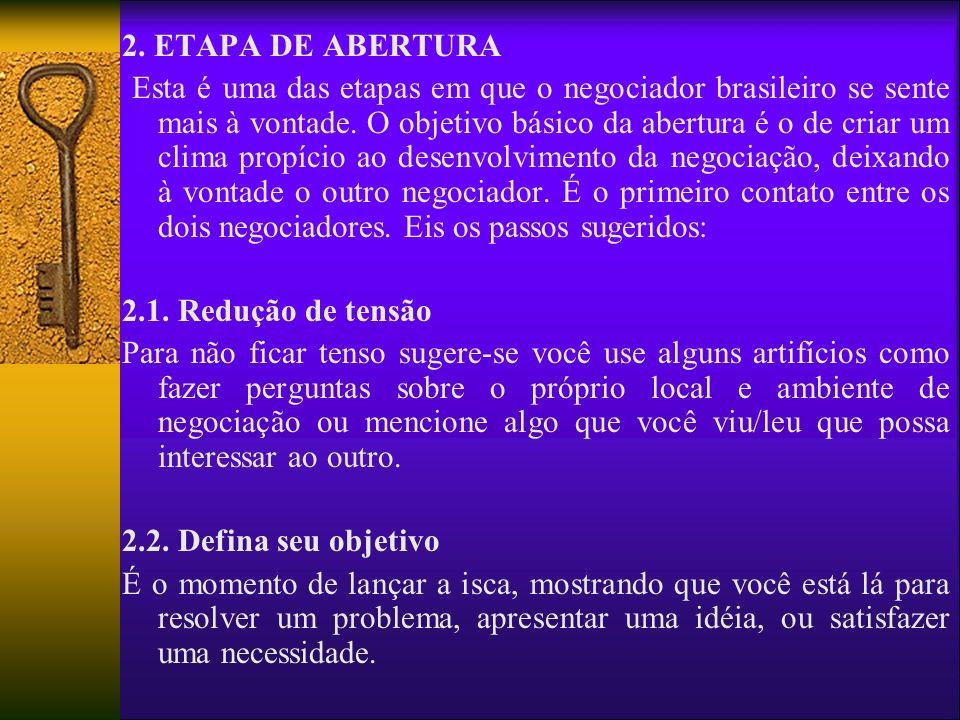 2. ETAPA DE ABERTURA