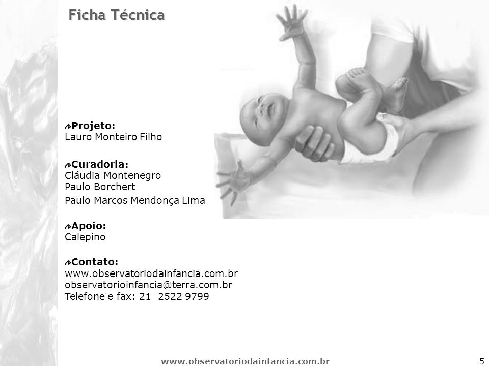 Ficha Técnica Projeto: Lauro Monteiro Filho
