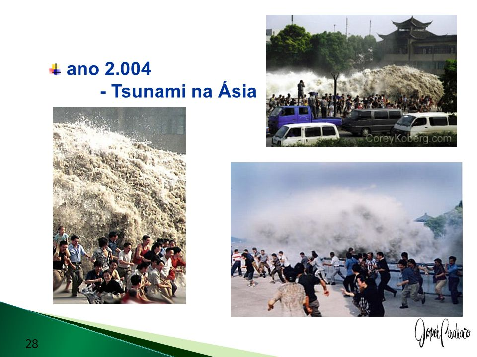 ano 2.004 - Tsunami na Ásia