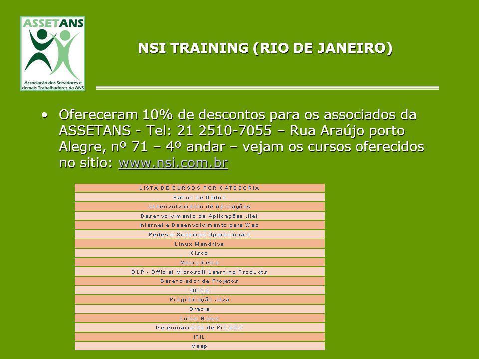 NSI TRAINING (RIO DE JANEIRO)