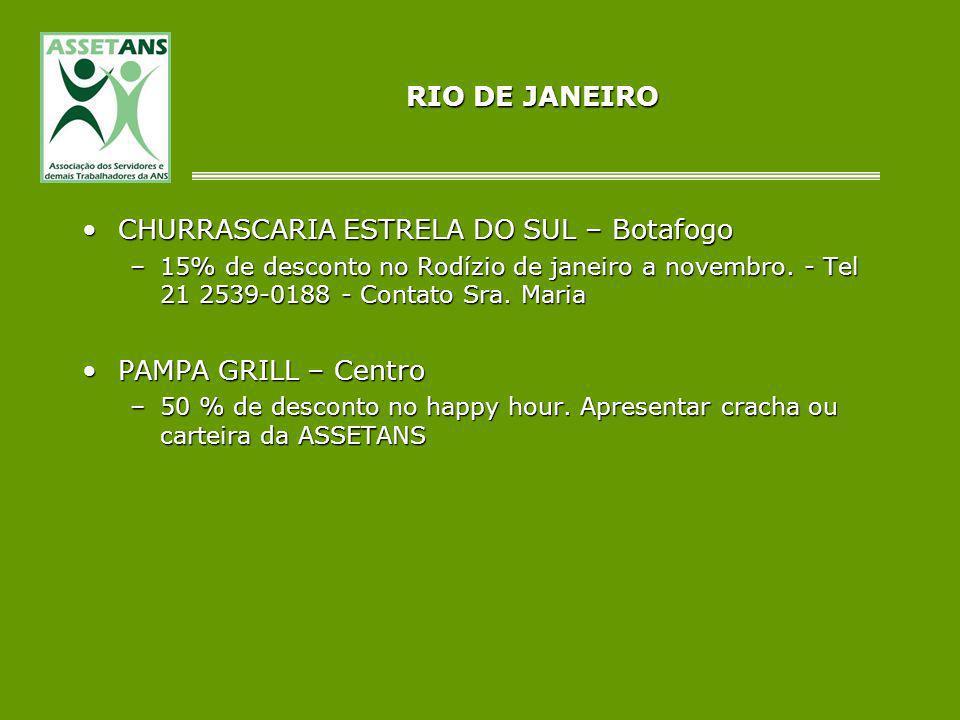 CHURRASCARIA ESTRELA DO SUL – Botafogo
