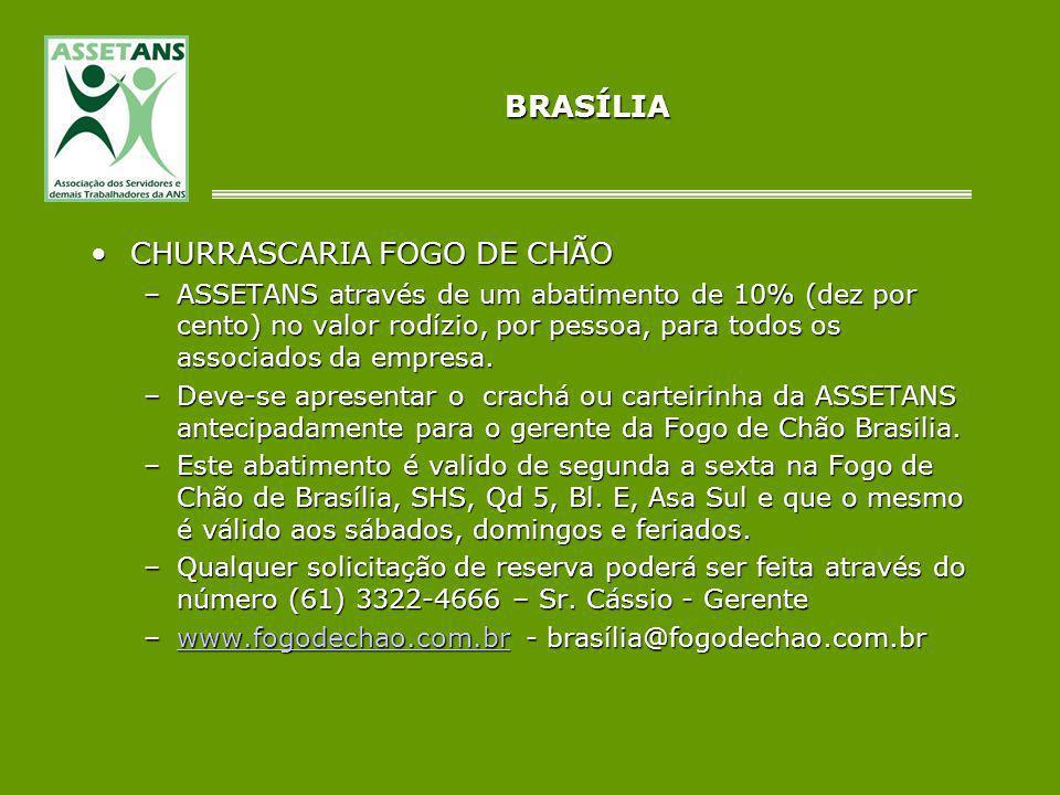 CHURRASCARIA FOGO DE CHÃO