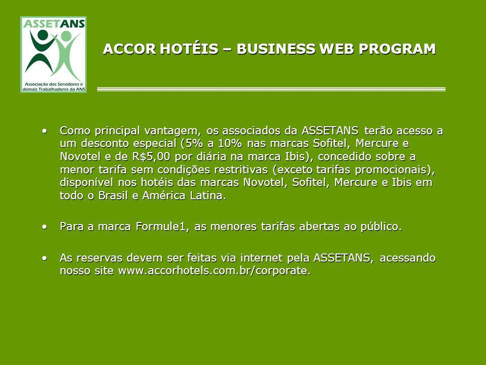 ACCOR HOTÉIS – BUSINESS WEB PROGRAM