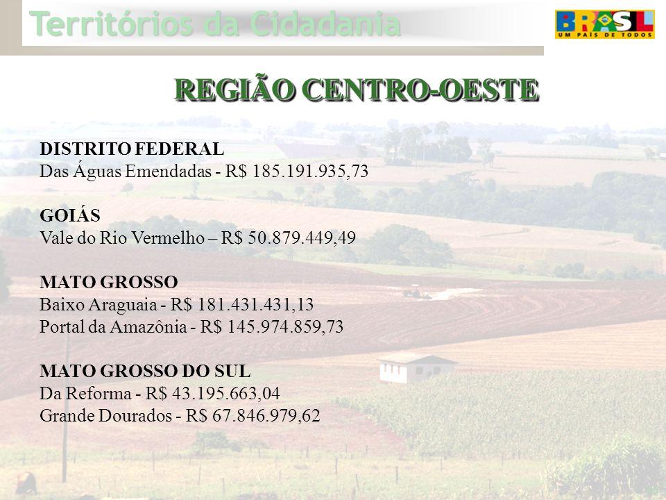 REGIÃO CENTRO-OESTE DISTRITO FEDERAL