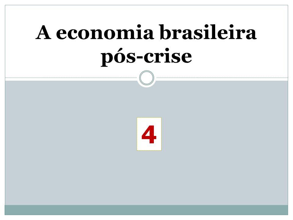 A economia brasileira pós-crise