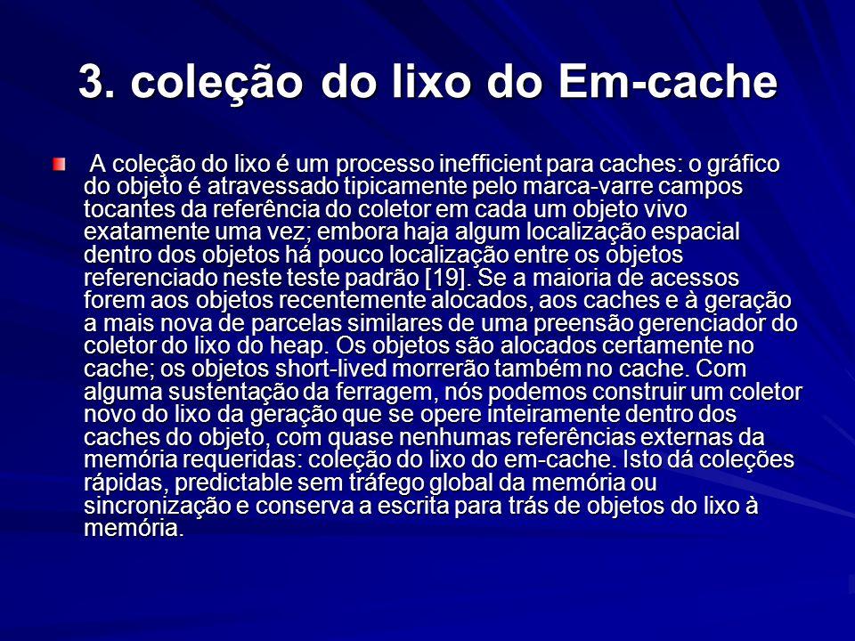 3. coleção do lixo do Em-cache