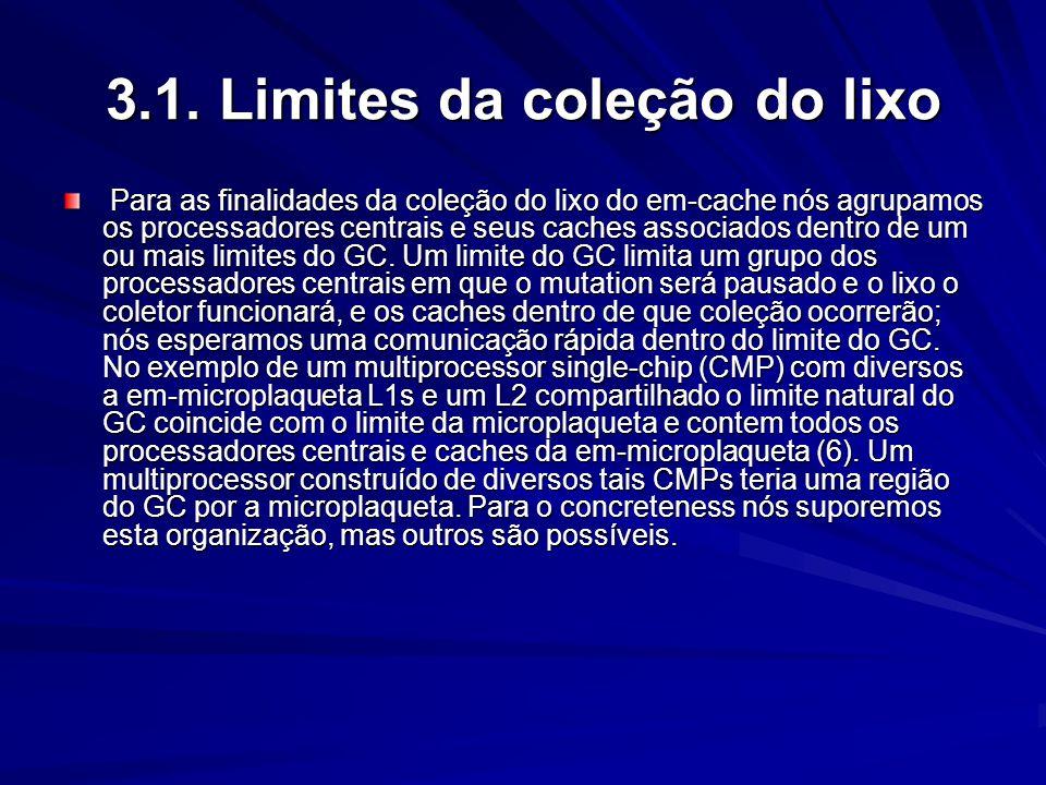 3.1. Limites da coleção do lixo