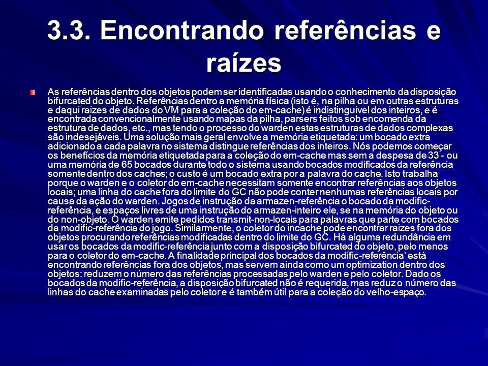 3.3. Encontrando referências e raízes