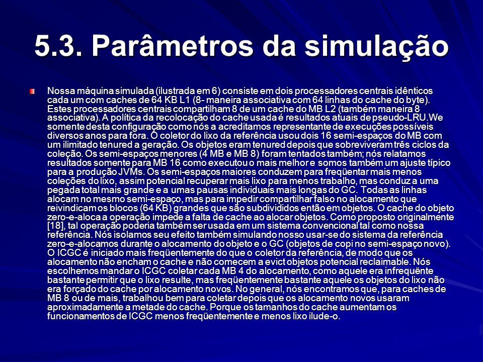 5.3. Parâmetros da simulação