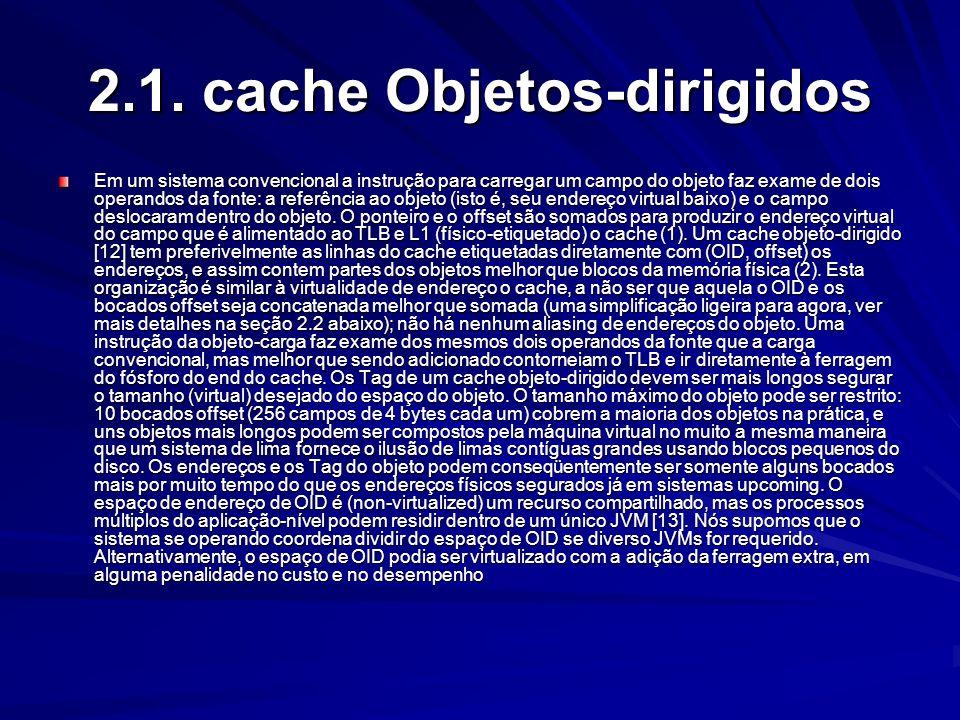 2.1. cache Objetos-dirigidos