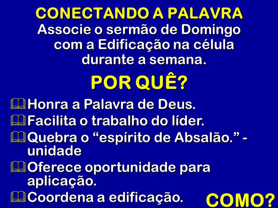 POR QUÊ COMO CONECTANDO A PALAVRA