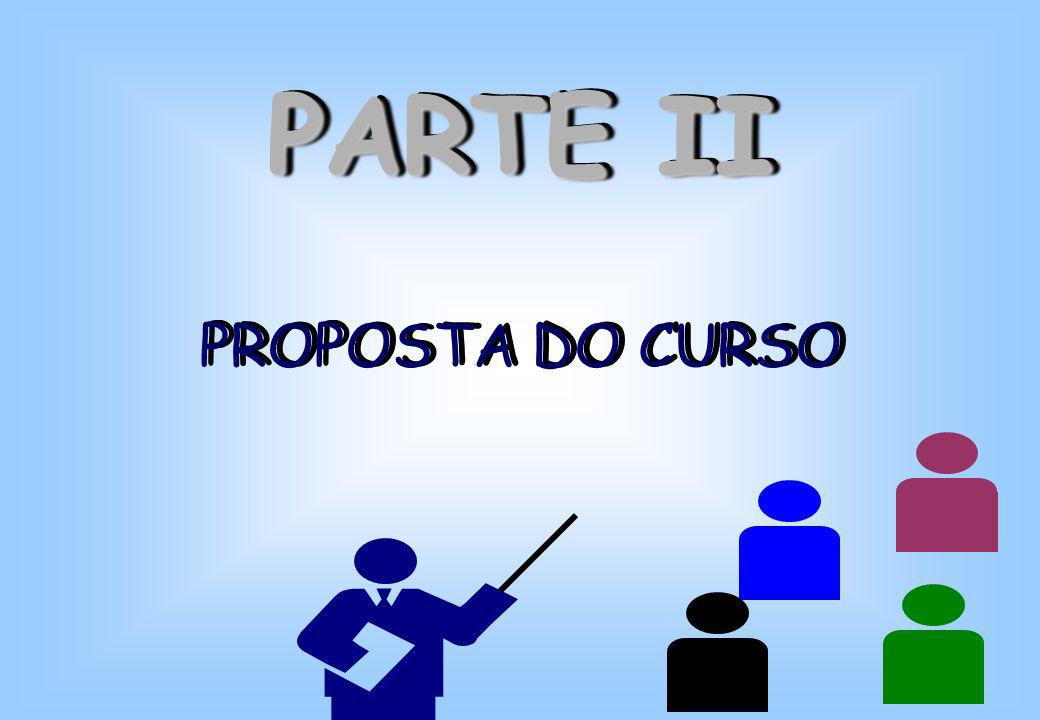 PARTE II PROPOSTA DO CURSO