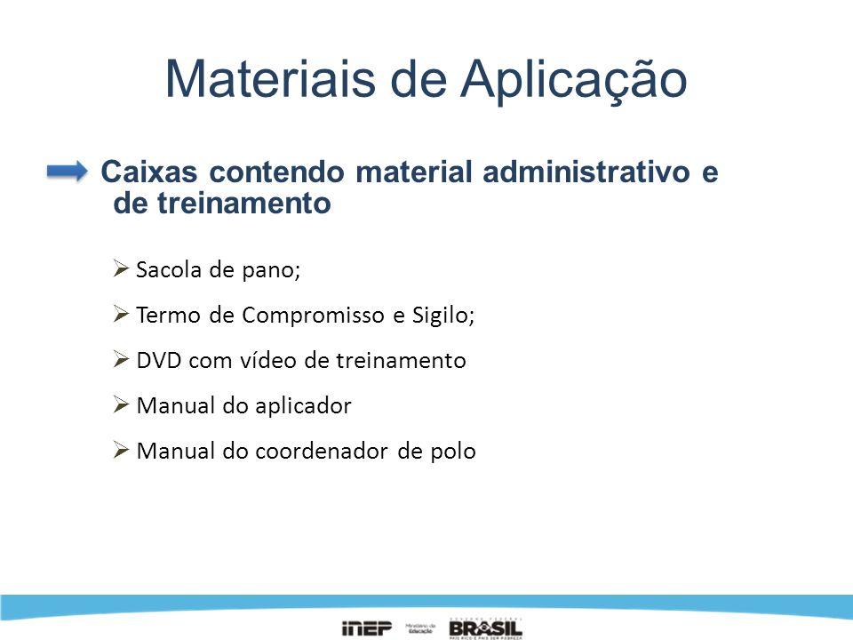 Materiais de Aplicação