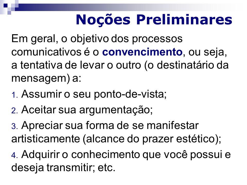 Noções Preliminares